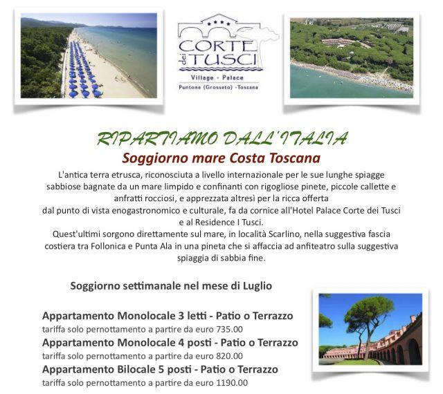 Soggiorno mare Costa Toscana