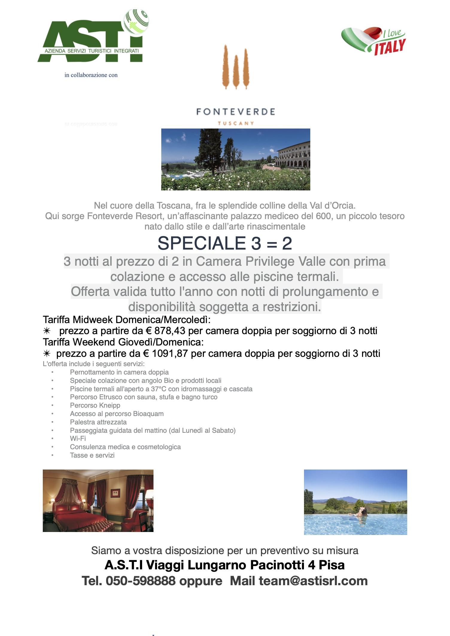 Fonteverde Resort e Spa