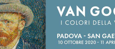 """Padova e Mostra """"I Colori della Vita"""" di Van Gogh"""