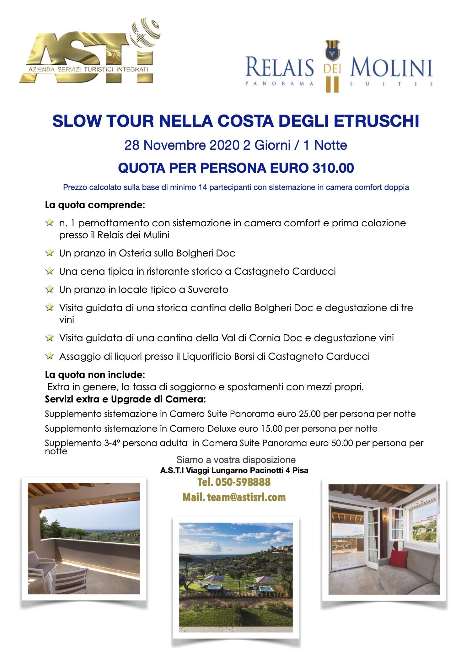 SLOW TOUR NELLA COSTA DEGLI ETRUSCHI