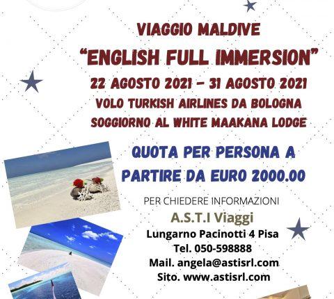 Viaggio Maldive English Full Immersion